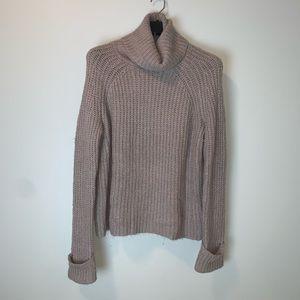 Nordstrom BP Chunky knit turtleneck sweater #3412